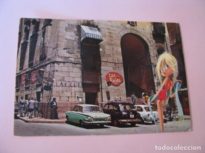 POSTAL DE MADRID. ARCO DE CUCHILLEROS. GARCIA GARRABELLA. ESCRITA 1969. (Postales - España - Madrid Moderna (desde 1940))