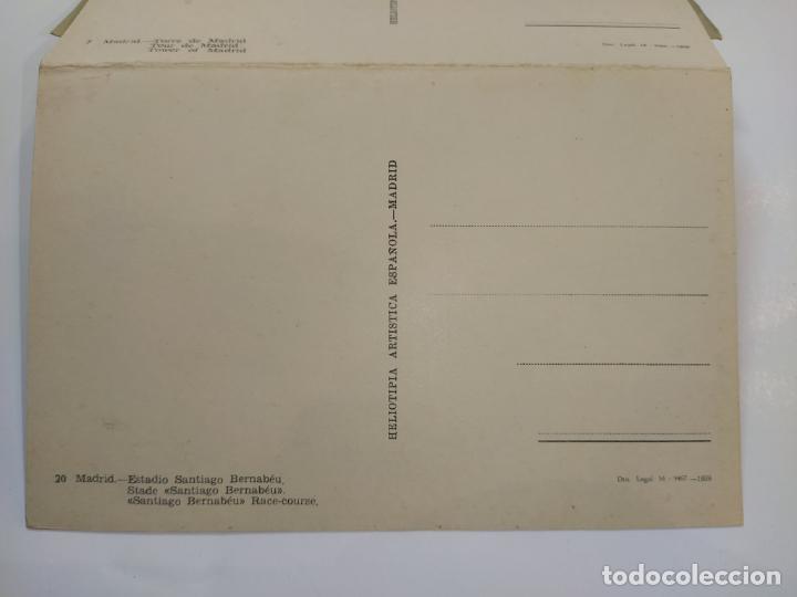 Postales: MADRID-BLOC CON 14 POSTALES-HAE-CAMPO FUTBOL SANTIAGO BERNABEU-VER FOTOS-(80.636) - Foto 11 - 262938915