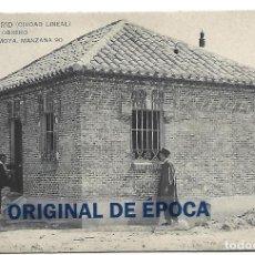 Postales: (PS-65262)POSTAL DE MADRID(CIUDAD LINEAL)-CASA DEL OBRERO D.JOSE RUBIO MOYA.MANZANA 90. Lote 264054965