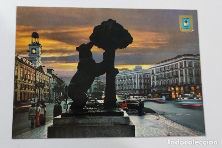 POSTAL MADRID PUERTA DEL SOL DETALLE. Nº 11 (Postales - España - Madrid Moderna (desde 1940))
