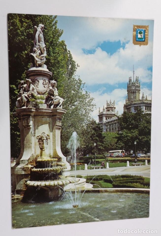 POSTAL MADRID FUENTE APOLO. Nº 181 (Postales - España - Madrid Moderna (desde 1940))