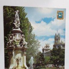 Postales: POSTAL MADRID FUENTE APOLO. Nº 181. Lote 265788724