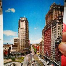 Cartes Postales: POSTAL MADRID PLAZA DE ESPAÑA Y CALLE DE LA PRINCESA N 463 BEASCOA 1971 ESCRITA. Lote 267734364