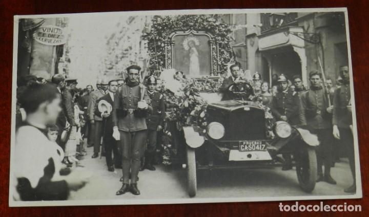 FOTO POSTAL DE PROCESION, PIO FOTOGRAFO, MADRID, NO CIRCULADA. (Postales - España - Comunidad de Madrid Antigua (hasta 1939))