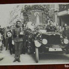 Postales: FOTO POSTAL DE PROCESION, PIO FOTOGRAFO, MADRID, NO CIRCULADA.. Lote 268134269