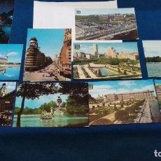 Postales: LOTE TARJETAS 10 POSTALES AÑOS 60 ( MADRID ) EDICIONES. DOMINGUEZ Y OTRAS VER FOTOS. Lote 268751599