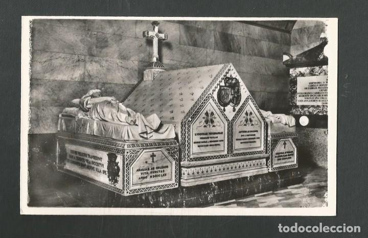 POSTAL SIN CIRCULAR MONASTERIO DE EL ESCORIAL (MADRID) PANTEON DUQUES EDITA HELIOTIPIA ARTISTICA (Postales - España - Madrid Moderna (desde 1940))
