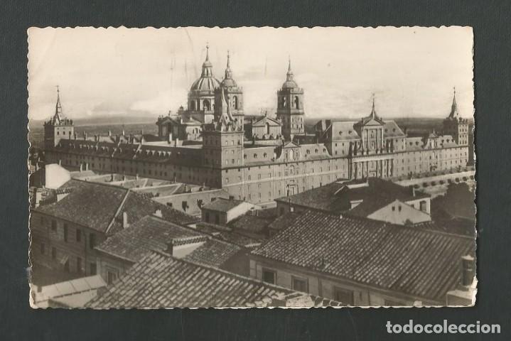 POSTAL SIN CIRCULAR MONASTERIO DE EL ESCORIAL 1 (MADRID) VISTA GENERAL EDITA HELIOTIPIA ARTISTICA (Postales - España - Madrid Moderna (desde 1940))