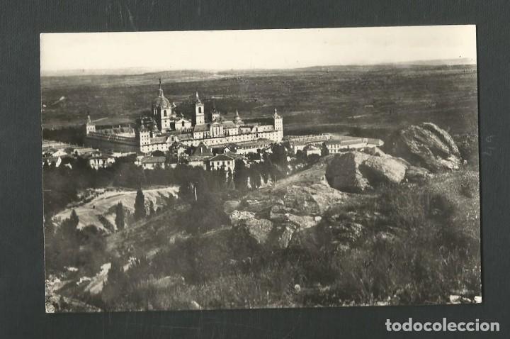 POSTAL SIN CIRCULAR MONASTERIO DE EL ESCORIAL 28 (MADRID) VISTA GENERAL EDITA HELIOTIPIA ARTISTICA (Postales - España - Madrid Moderna (desde 1940))