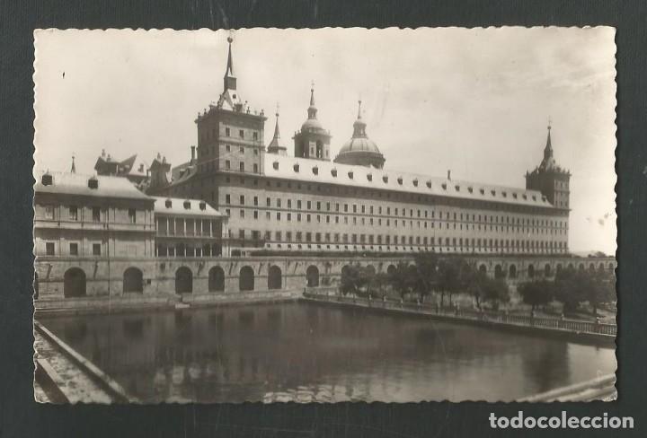 POSTAL SIN CIRCULAR MONASTERIO DE EL ESCORIAL 2 (MADRID) ESTANQUE EDITA HELIOTIPIA ARTISTICA (Postales - España - Madrid Moderna (desde 1940))