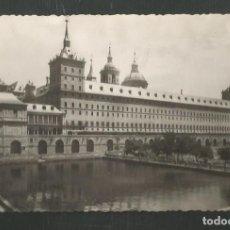 Postales: POSTAL SIN CIRCULAR MONASTERIO DE EL ESCORIAL 2 (MADRID) ESTANQUE EDITA HELIOTIPIA ARTISTICA. Lote 269032452