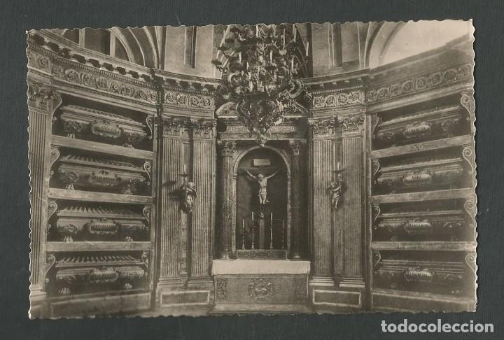 POSTAL SIN CIRCULAR MONASTERIO DE EL ESCORIAL 9 (MADRID) PANTEON REYES EDITA HELIOTIPIA ARTISTICA (Postales - España - Madrid Moderna (desde 1940))