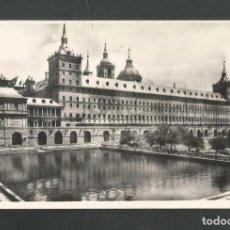 Postales: POSTAL SIN CIRCULAR MONASTERIO DE EL ESCORIAL (MADRID) ESTANQUE EDITA HELIOTIPIA ARTISTICA. Lote 269032769