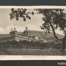 Postales: POSTAL SIN CIRCULAR MONASTERIO DE EL ESCORIAL 3 (MADRID) VISTA GENERAL EDITA DOMINGUEZ. Lote 269033029