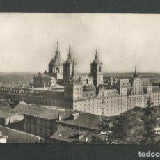 Postales: POSTAL CIRCULADA MONASTERIO DE EL ESCORIAL 1 (MADRID) VISTA GENERAL EDITA HELIOTIPIA ARTISTICA. Lote 269033509