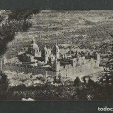 Postales: POSTAL SIN CIRCULAR MONASTERIO DE EL ESCORIAL 19 (MADRID) VISTA GENERAL EDITA DOMINGUEZ. Lote 269033604