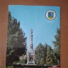 Postales: MADRID - MONUMENTO A COLÓN (ESCRITA Y CIRCULADA). Lote 270556423