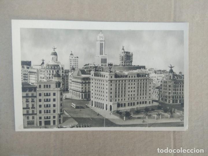 POSTAL N 26 CIUDAD FENIX DETALLE DE LA MAQUETA FORMADA CON LOS EDIFICIOS (Postales - España - Madrid Moderna (desde 1940))