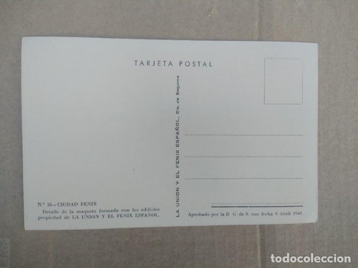 Postales: Postal n 26 ciudad fenix detalle de la maqueta formada con los edificios - Foto 2 - 270880893