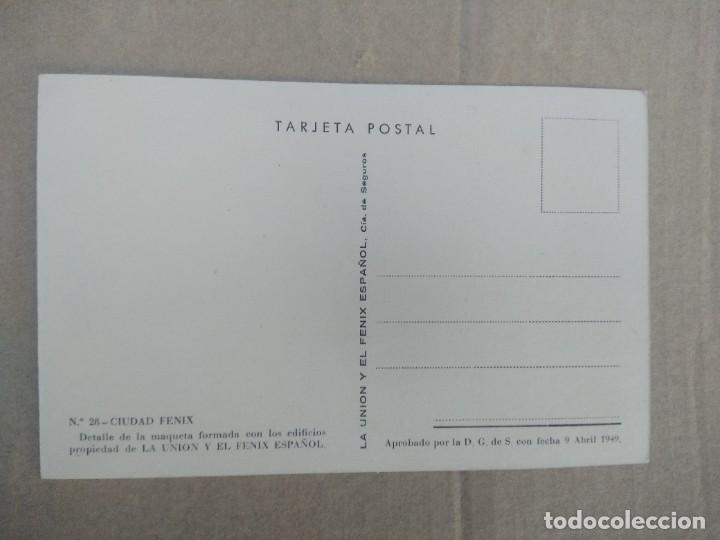 Postales: Postal n 28 ciudad fenix detalle de la maqueta formada con los edificios - Foto 2 - 270881138