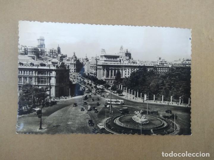 POSTAL MADRID, PLAZA DE CIBELES (Postales - España - Madrid Moderna (desde 1940))