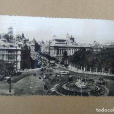 Postales: POSTAL MADRID, PLAZA DE CIBELES. Lote 270902023