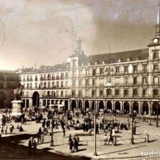 Postales: MADRID. 4011 LA PLAZA MAYOR. A. CAMPAÑA. USADA CON SELLO. BLANCO/NEGRO. Lote 270924928