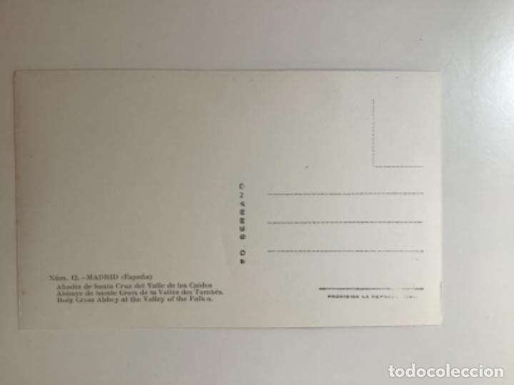 Postales: Postal Madrid. Valle de los Caídos. 12 Abadía. . Serrano. - Foto 2 - 270926418