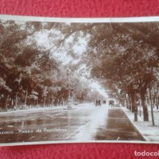 Postales: POST CARD ANTIGUA Nº 106 MADRID PASEO DE RECOLETOS COCHES ANTIGUOS DE ÉPOCA CARS VOITURES SPAIN..... Lote 271399518