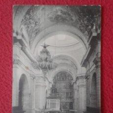 Postales: TARJETA POST CARD EL ESCORIAL CAPILLA REAL, EL CORO FOTOTIPIA THOMAS BARCELONA, MONASTERIO..VER FOTO. Lote 271526853