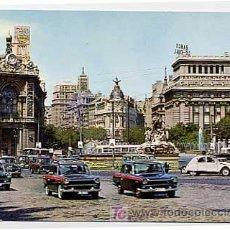 Postales: MADRID. CIBELES Y EDIFICIO DEL FENIX. ED. FISA. ESCUDO DE ORO 112. AÑO 1964. ESCRITA. Lote 271558248