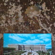 Postales: POSTAL MADRID, PLAZA DE ORIENTE Y PALACIO REAL. Lote 271564288