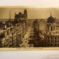 Postales: MADRID. POSTAL AVENIDA DE JOSÉ ANTONIO. VISTA PARCIAL. EDIC., M. ARRIBAS (H.1940?) S/C. Lote 271580848