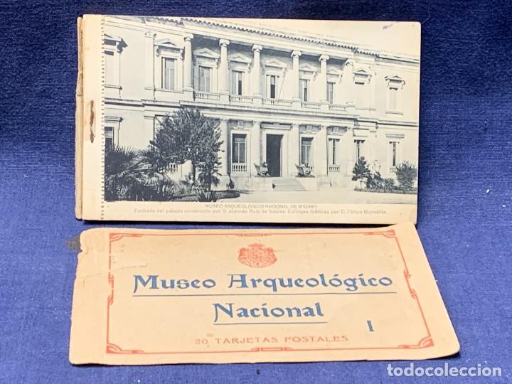 20 POSTALES MUSEO ARQUEOLOGICO NACIONAL SERIE I FOTOTIPIA HAUSER Y MENET MADRID 9X15CMS (Postales - España - Comunidad de Madrid Antigua (hasta 1939))