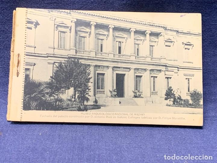 Postales: 20 POSTALES MUSEO ARQUEOLOGICO NACIONAL SERIE I FOTOTIPIA HAUSER Y MENET MADRID 9X15CMS - Foto 3 - 271644028