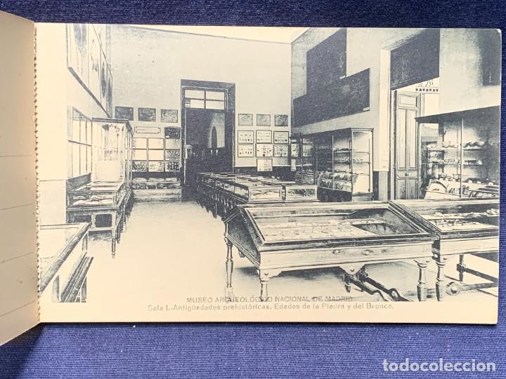 Postales: 20 POSTALES MUSEO ARQUEOLOGICO NACIONAL SERIE I FOTOTIPIA HAUSER Y MENET MADRID 9X15CMS - Foto 5 - 271644028