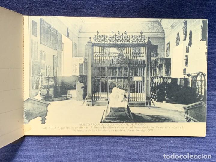 Postales: 20 POSTALES MUSEO ARQUEOLOGICO NACIONAL SERIE I FOTOTIPIA HAUSER Y MENET MADRID 9X15CMS - Foto 6 - 271644028