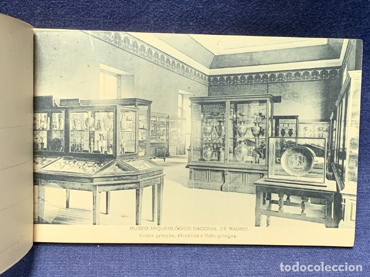Postales: 20 POSTALES MUSEO ARQUEOLOGICO NACIONAL SERIE I FOTOTIPIA HAUSER Y MENET MADRID 9X15CMS - Foto 7 - 271644028