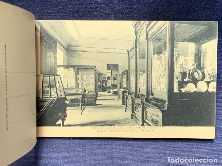 Postales: 20 POSTALES MUSEO ARQUEOLOGICO NACIONAL SERIE I FOTOTIPIA HAUSER Y MENET MADRID 9X15CMS - Foto 9 - 271644028