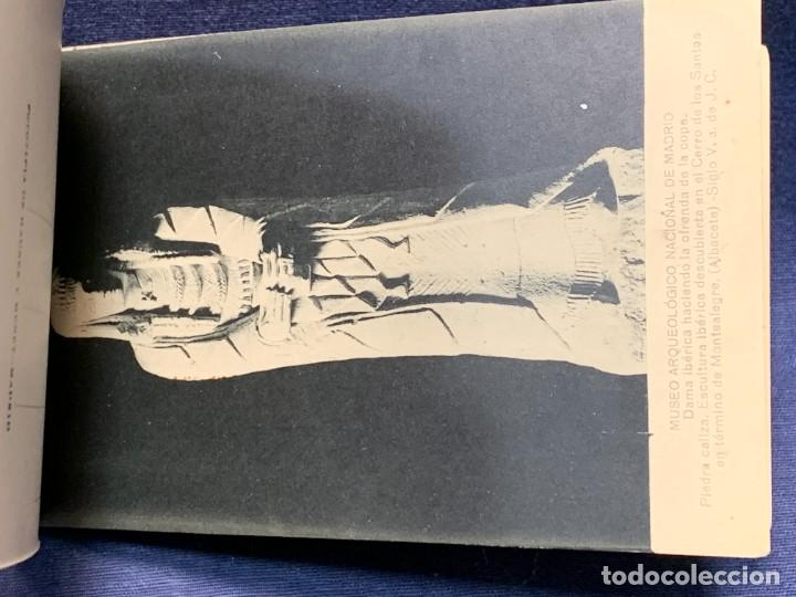 Postales: 20 POSTALES MUSEO ARQUEOLOGICO NACIONAL SERIE I FOTOTIPIA HAUSER Y MENET MADRID 9X15CMS - Foto 21 - 271644028
