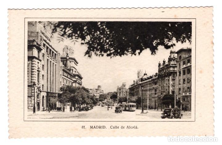 MADRID (ESPAÑA) - CALLE DE ALCALÁ - SIN CIRCULAR (Postales - España - Madrid Moderna (desde 1940))
