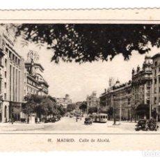 Postales: MADRID (ESPAÑA) - CALLE DE ALCALÁ - SIN CIRCULAR. Lote 274644573