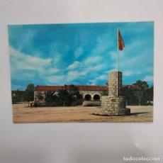 Postales: POSTAL COLMENAR VIEJO CAMPAMENTO DE SAN PEDRO C.I.R. N 1 10,5X15 CM ESCRITA SIN CIRCULAR 1965 RARA 1. Lote 274889153