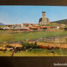 Postales: ROBLEDO DE CHAVELA MADRID VISTA PARCIAL E IGLESIA DE SANTA MARIA. Lote 275069718