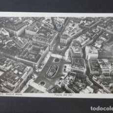 Postales: MADRID PUERTA DEL SOL VISTA AEREA. Lote 275097898