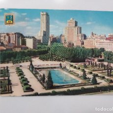 Postales: POSTAL MADRID JARDINES DE SABATINI 10,5 X 15 ESCRITA CIRCULADA 1965 DOMINGUEZ FISA BONITA. Lote 275281713