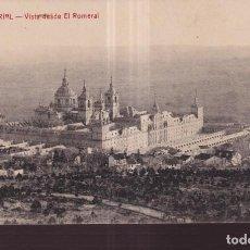Postales: POSTAL DE EÑ ESCORIAL VISTA DESDE EL ROMERAL EDITO CASTAÑEIRA SIN CIRCULAR. Lote 275731003
