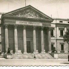 Postales: MADRID-PALACIO DE LAS CORTES ESPAÑOLAS- GARCIA GARRABELLA. Lote 275845108