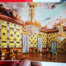 Postales: POSTAL ARANJUEZ REAL CASITA DEL LABRADOR SALÓN DE BAILE N 7 FISA MAL RECORTADA. Lote 276369263