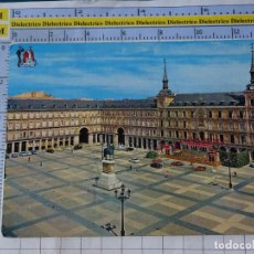 Postales: POSTAL DE MADRID. AÑO 1963. PLAZA MAYOR 110 BEASCOA. 1208. Lote 276420933